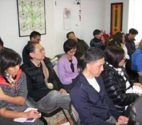 "Attentive audience at the ""Readings on the 2013 Year of the Snake\"" free lecture."