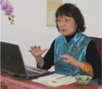 """A Reading on the 2013 Year of the Snake\"" was presented by Jetsun Ma"